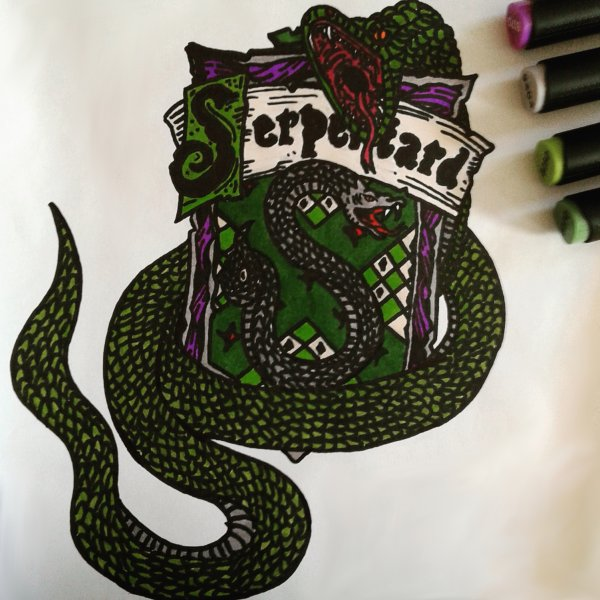Harry Potter Serpentard