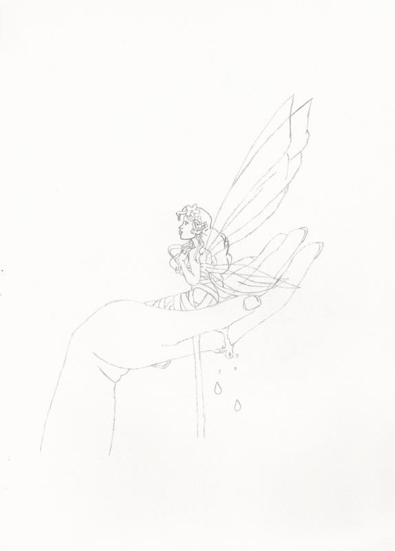 La fée Margalide et la main salvatrice :
