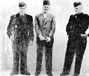 أسد الأوراس مصطفى بن بولعيد بعد إعتقاله
