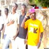 photo souvenir avec mes ami au sud du sénégal