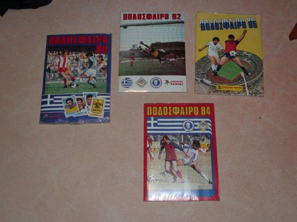 Quelques vieux albums Podosfairo