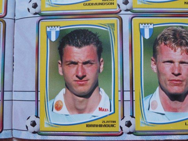 Panini Fotboll 2000