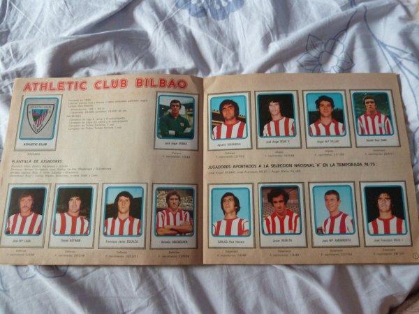 Futbol 75-76, Ediciones Vulcano