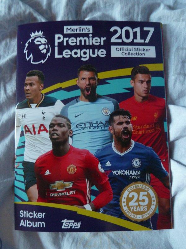 Merlin's Premier League 2017 (Topps)