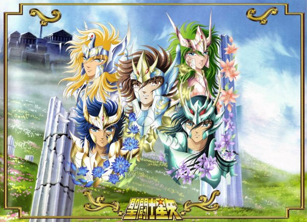 spaceweaver saint seiya wallpaper