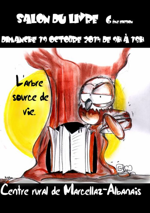 Salon du livre de Marcellaz-Albanais - Octobre 2014