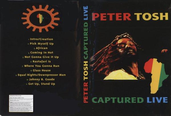 CONCERT : PETER TOSH - Captured Live
