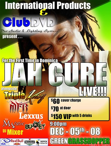 CONCERT : JAH CURE - Live in Dominica