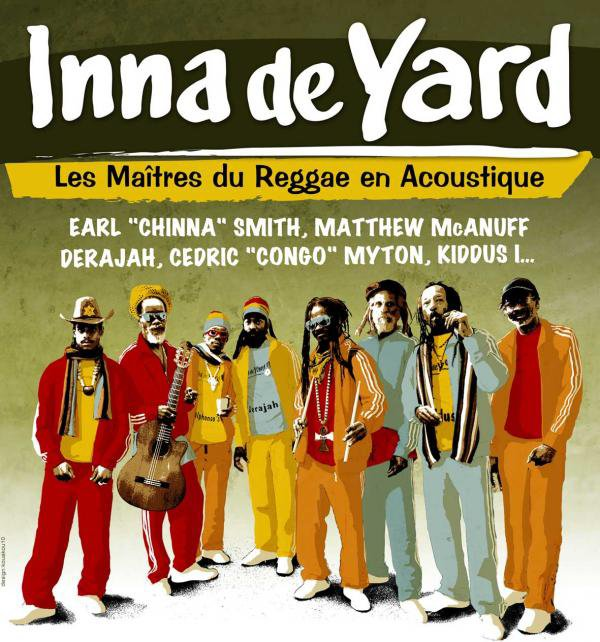 CONCERT : INNA DE YARD - ALL STARS - Live In France (2010)