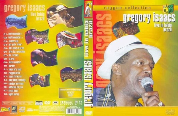 CONCERT : GREGORY ISAACS - Live In Bahia Brazil (2004)