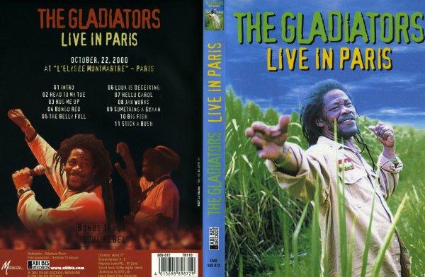 CONCERT : THE GLADIATORS - Live In Paris (2000)