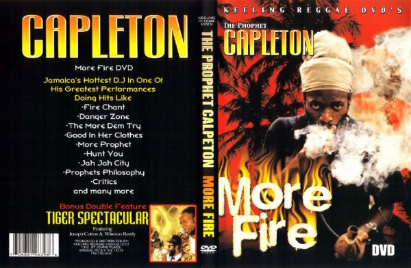 "DOCUMENTAIRE (CONCERT) : ""The Prophet"" Capleton - More Fire Live From Amazura (2000)"