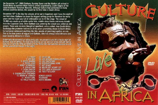 CONCERT : CULTURE - Live In Africa (2000)