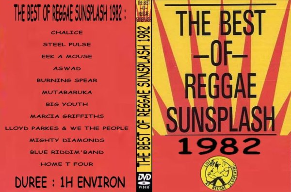 CONCERT : Best Of Reggae Sunsplash (1982)