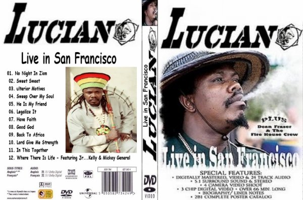 CONCERT : LUCIANO - Live In San Francisco