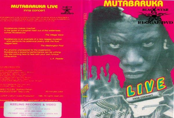 CONCERT : MUTABARUKA - Live Inna Concert