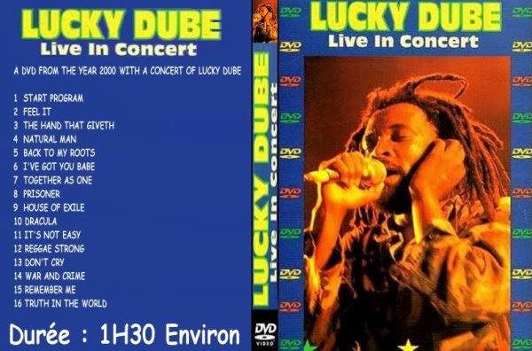 CONCERT : LUCKY DUBE -  Live In Concert (2000)
