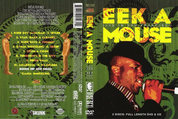 CONCERT : EEK A MOUSE - Live In San Francisco (2006)