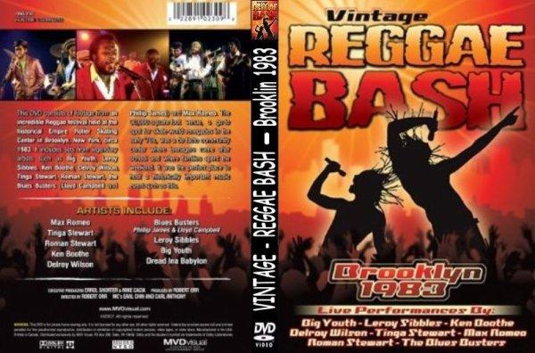 CONCERT : Vintage Reggae Bash - Brooklyn (1983)