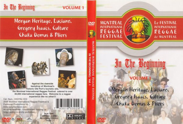 CONCERT : VARIOUS ARTIST - Montreal Reggae Festival - In The Beginning - Vol1 (2005)