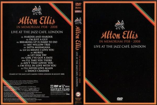 CONCERT : ALTON ELLIS - Live at the Jazz Cafe (London) (2008)