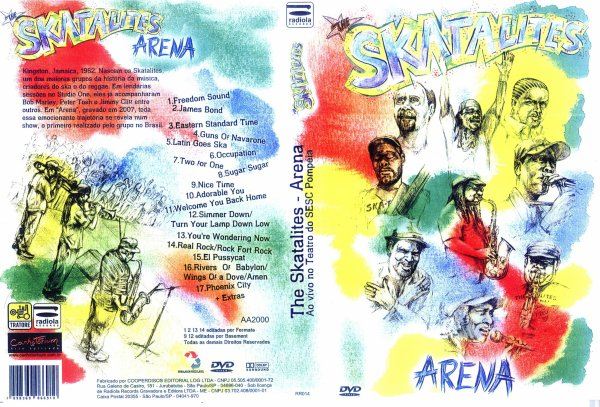 CONCERT : THE SKATALITES - Arena - Ao Vivo Teatro do Sesc Pompeia (2008)