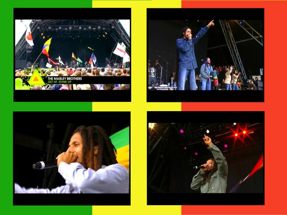CONCERT : THE MARLEY BROTHERS - Live Glastonbury (2007)