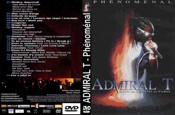 CONCERT : ADMIRAL T - Live au Zenith de Paris (2006)