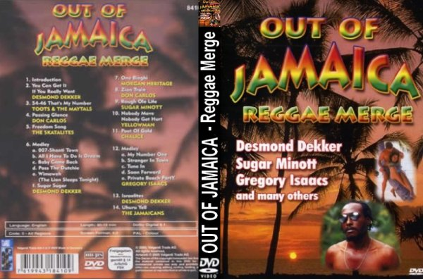 CONCERT : Out Of Jamaica - Reggae Merge