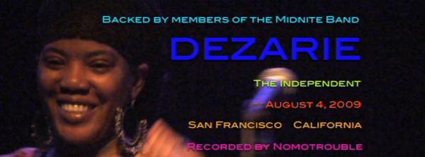 CONCERT : DEZARIE - Live In San Francisco (2009)