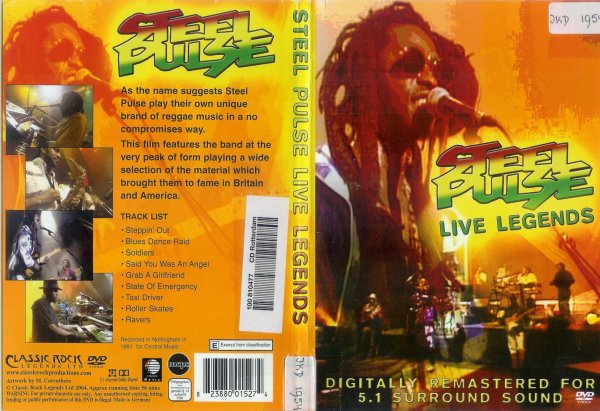 CONCERT : STEEL PULSE - Live Legends