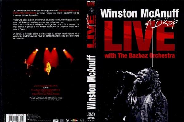 CONCERT : WINSTON MCANUFF - Live A Drop