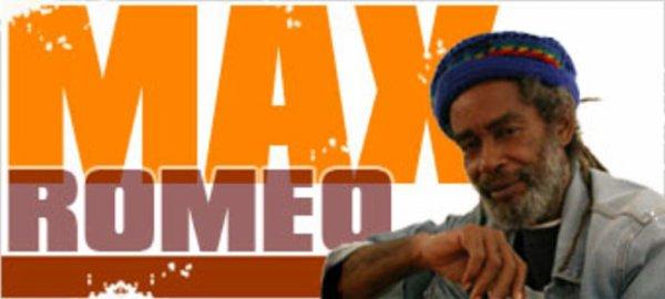 CONCERT : MAX ROMEO - Live (Palladium De Genève)