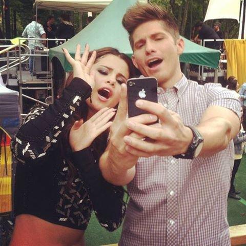 Présentation de  Selena sur Good Morning America !