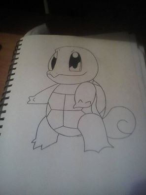Pokemon # 7 - squirtle