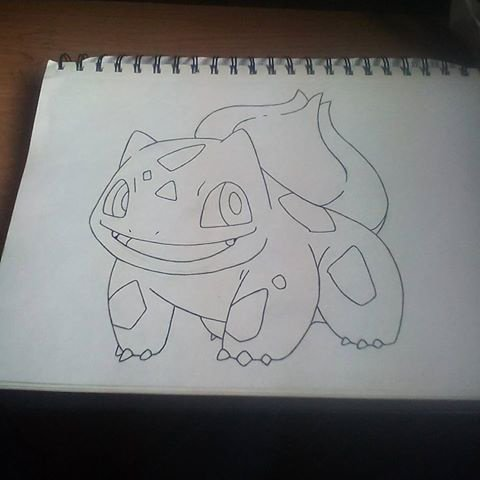Pokemon # 1 - bulbasaur