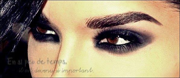 ~~ Je me sens renaitre lorsque j'ose regarder à travers tes yeux  ~~