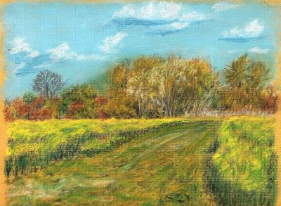 Paysage De Campagne Mad Drawings Dessin Et Illustration