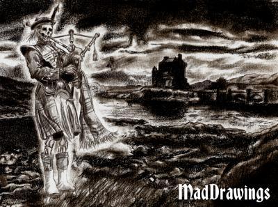 Fantôme Clan Campbell - Mad Drawings: dessin et illustration