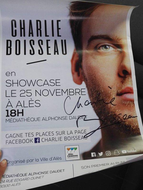 Charlie Boisseau  Séanc de dédicace ALES