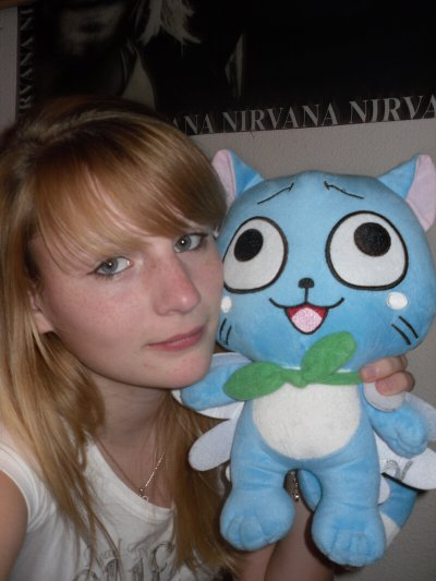 Ma peluche Happy :3