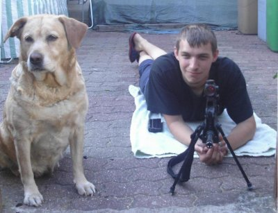 petit entrainement de tire avec mon chien