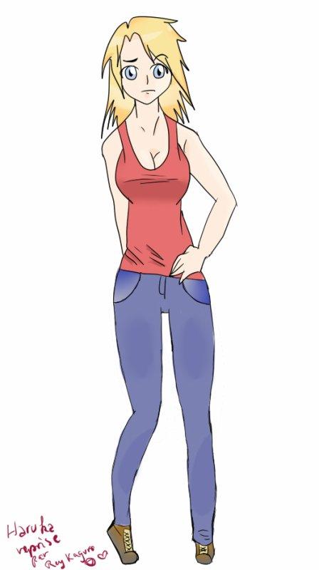 Haruka le magnifique personnage fictif de Grimmjow-girl ;3