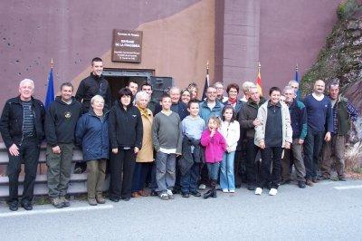 Visite des élus de Rimplas et Saint Sauveur