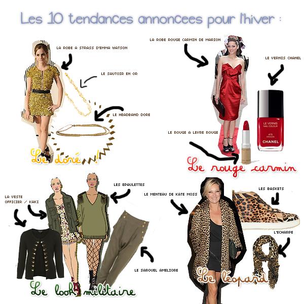 TENDANCES // HIVERS 2010