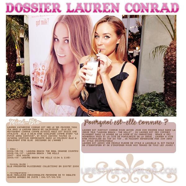 Dossier : Lauren conrad