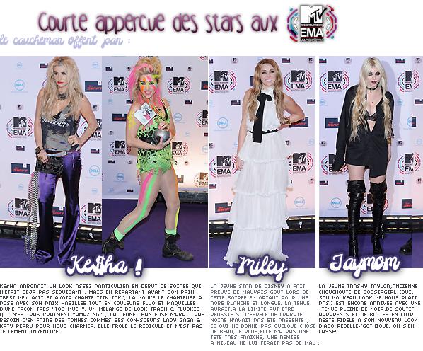___+ EVENEMENT: ___MTV EMA'S 2010 : LES FLOPS & LE TOP.