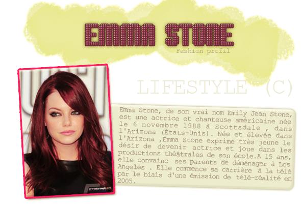 ___+ Dossier : ___Emma Stone
