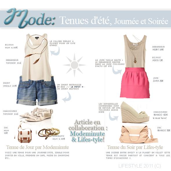 Mode : tenues d'été