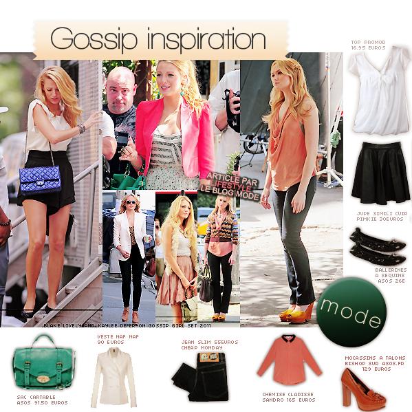Gossip Inspiration: mode & maquillagefacebook ▲ twitter ▲ formspring